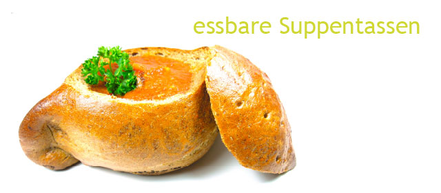 essbare suppentassen